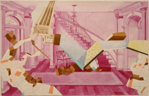 """Untitled"" work on paper by Mark Joshua Epstein"