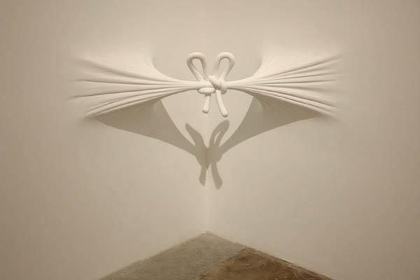 Anna carnick architecture - Fabulous wall art using joint compound ...