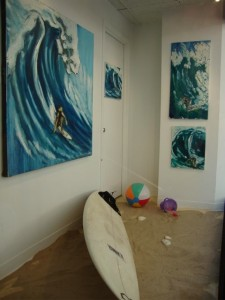 """""""Surf into Summer"""" by Mitchell Schorr"""
