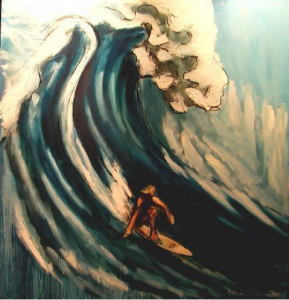 """Surf into Summer"" by Mitchell Schorr"
