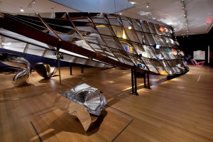 Installation view of Ron Arad: No Discipline at The Museum of Modern Art. Photo: Jason Mandella.