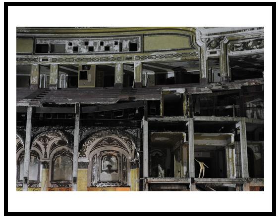 Michigan Theater, Detroit, MI, USA, 2009, Digital C-Print, 76 x 115cm, by Miru Kim